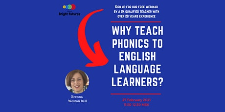 Why teach phonics to English language learners? tickets
