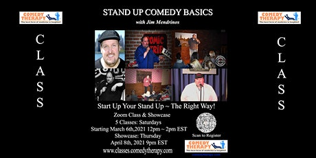 Stand Up Comedy Basics with Jim Mendrinos tickets