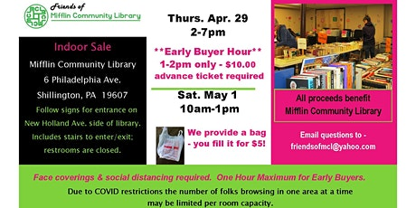 Friends of MCL Book Sale - Early Buyer Hour tickets