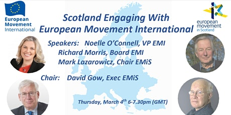 Online Discussion with European Movement International tickets