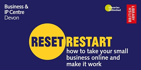 Reset. Restart: How to Take Your Small Business Online - Kalkidan Legesse tickets