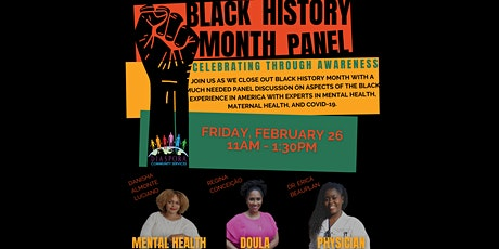 Black History Month Panel: Celebrating Through Awareness tickets