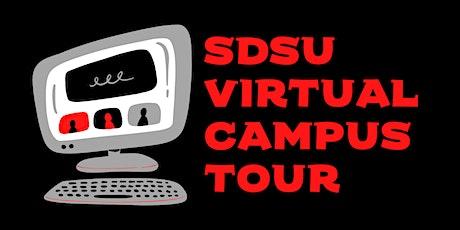 San Diego State University Virtual Campus Tour tickets