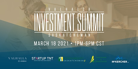 The Valhalla Investment Summit Saskatchewan tickets