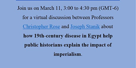 Imperialism and Disease in Egypt ingressos