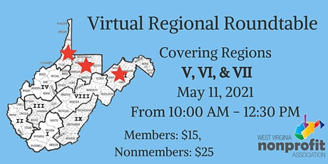 Region V, VI, & VII Roundtable tickets