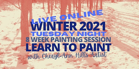 Tuesday Night Live Painting Sessions - Winter 2021 tickets