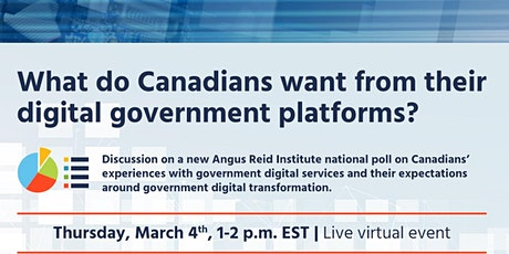 What do Canadians want from their digital government platforms? tickets