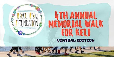 4th Annual Memorial Walk for Keli - Virtual  Edition tickets