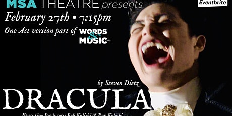 Dracula / Words & Music 2021 tickets
