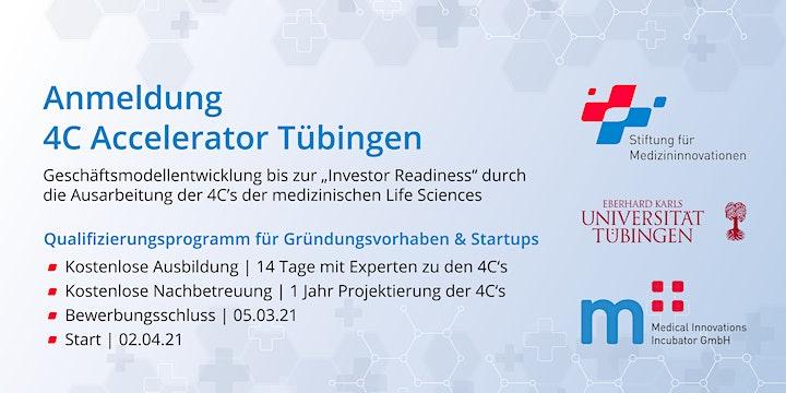Registration - 4C Accelerator Tübingen: Bild