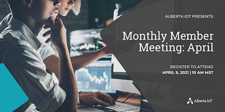 Monthly Member Meeting - April tickets