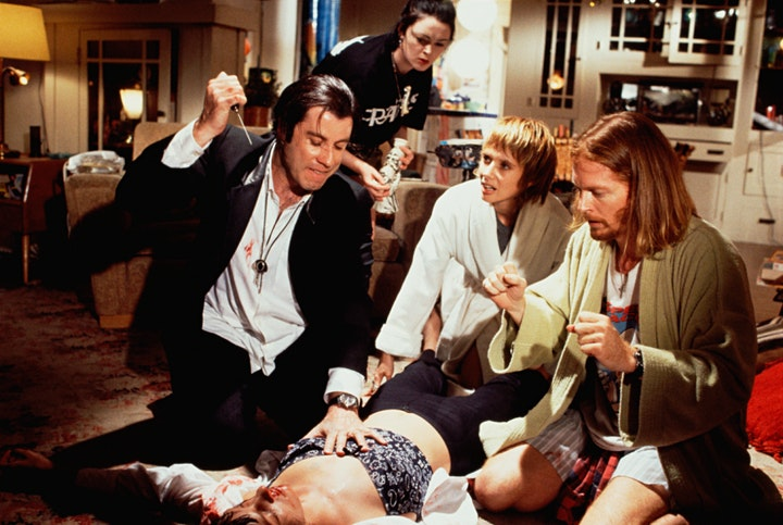 Starlite Drive In Movies -PULP FICTION image