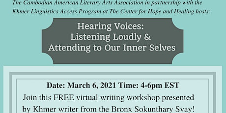 Hearing Voices: Listening Loudly and Attending to Our Inner Selves tickets