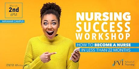 Nursing Success Workshop - Miramar Campus tickets
