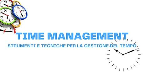 ⌛ TIME MANAGEMENT: come organizzare il tempo biglietti