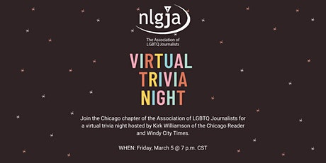 NLGJA Chicago Virtual Trivia Night tickets