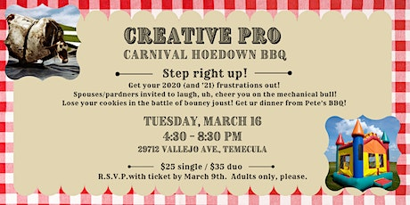 Creative Pro Carnival Hoedown - March Event tickets