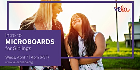 Webinar: Intro to Microboards for Siblings tickets