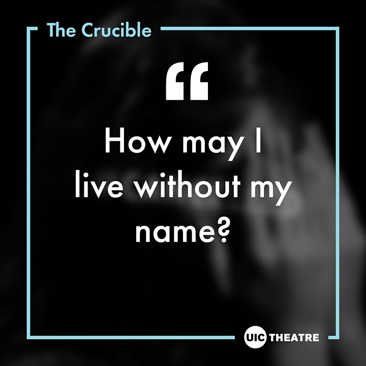 UIC Theatre Presents -  The Crucible image