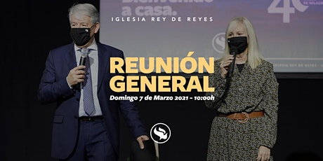 Reunión general - 07/03/21 - 10:00h billets