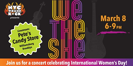 We the She - Livestream Concert tickets
