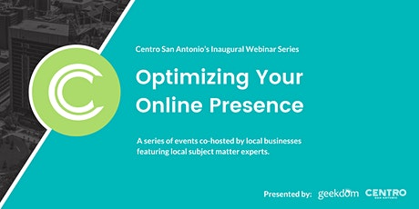 Optimizing Your Online Presence : Creative + Effective Social Media tickets
