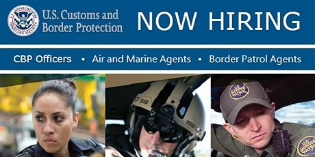 Customs and Border Protection Employer Showcase and Resume Class tickets