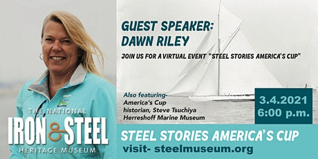 Steel Stories America's Cup Virtual Event tickets
