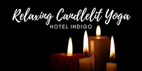 Relaxing Candlelit Yoga at Hotel Indigo Madison + BONUS: Discounted Rooms tickets