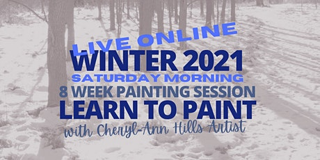 Saturday Morning Live Painting Sessions - Winter 2021 tickets
