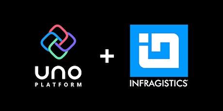 Build LOB applications with Uno Platform and Infragistics controls tickets