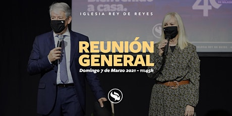 Reunión general - 07/03/21 - 11:45h billets