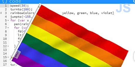 Intro to JavaScript-Using Variables, Arrays, Loops to Code the LGBTQ+ Pride tickets