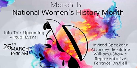 BWBOEE's Virtual Women's History Month Event tickets