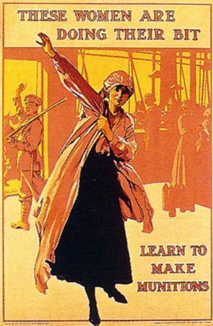 London's Women of World War 1- A London Walks Virtual Tour image