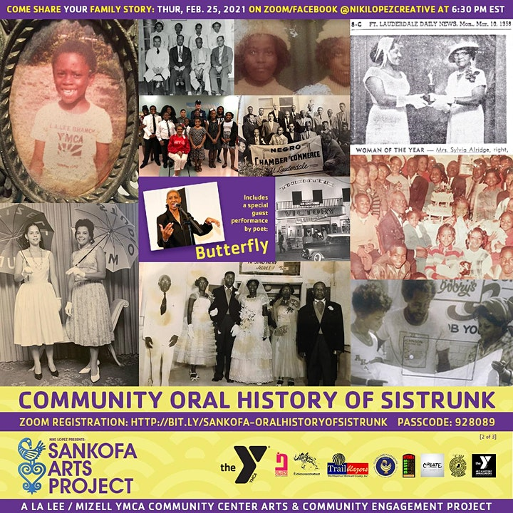 Sankofa Art Project: Community Oral History of Sistrunk (2 of 3) image