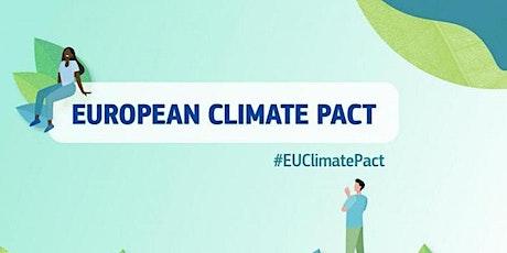 Da Cittadini ad Ambasciatori Europei: Il Patto Climatico aspetta anche te biglietti