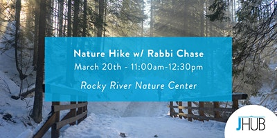 Nature Hike with Rabbi Chase
