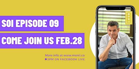 MONII Live Talk - inspirational business/human story tickets