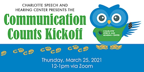 Communication Counts Kickoff tickets