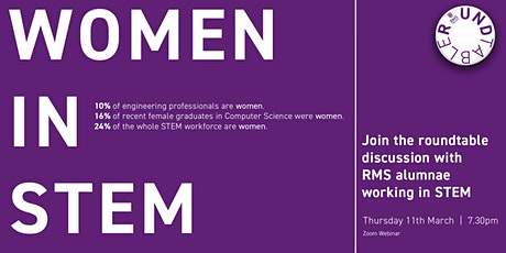 Women in STEM  |  RMS Roundtable tickets