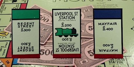 Monopoly Board  of London - Shopping and Wealth - Virtual Tour tickets