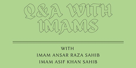 Q & A with Toronto Imams tickets