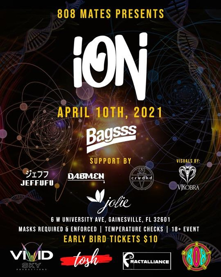 808 Mates Presents: ION + Friends image