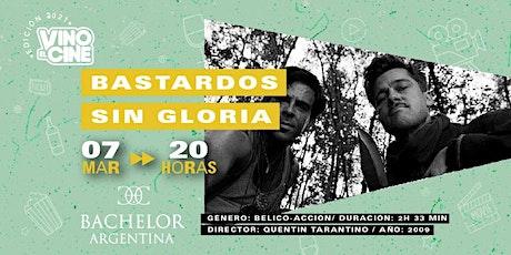 Nueva Fecha! Bastardos sin gloria - Vino el Cine 9na. Edición entradas