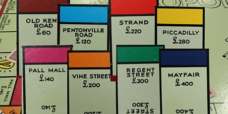Monopoly Board  of London - The Series - Virtual Tour tickets