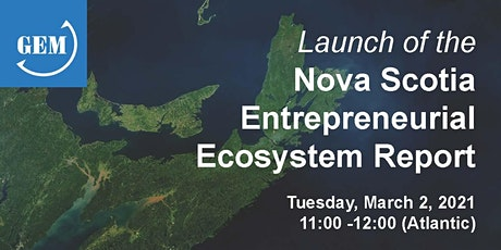 Launch of the Nova Scotia Entrepreneurial Ecosystem Report tickets