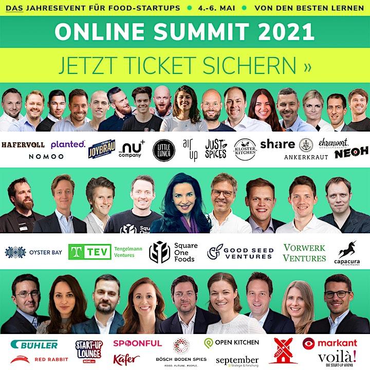 Food & Beverage Innovators ONLINE SUMMIT 2021: Bild
