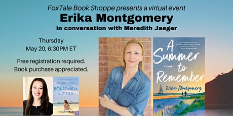 Erika Montgomery in conversation with Meredith Jaeger Virtual tickets